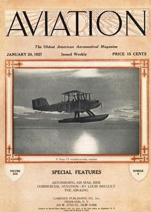 Cover for the January 24 1927 issue