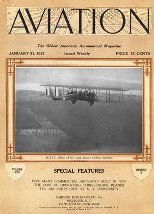 Cover for the January 31 1927 issue