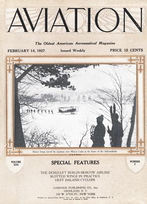 Cover for the February 14 1927 issue