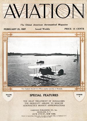 Cover for the February 21 1927 issue