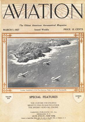 Cover for the March 7 1927 issue