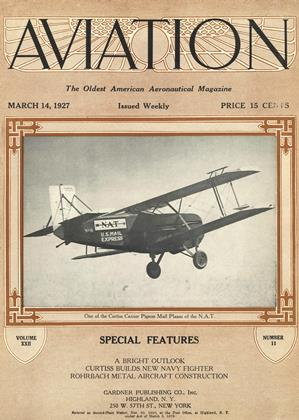 Cover for the March 14 1927 issue
