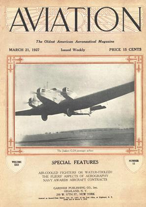 Cover for the March 21 1927 issue