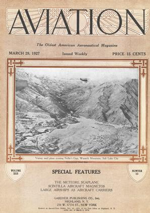 Cover for the March 28 1927 issue