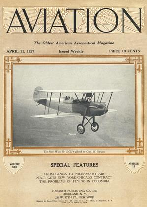 Cover for the April 11 1927 issue