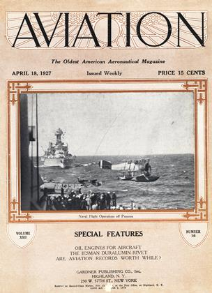 Cover for the April 18 1927 issue