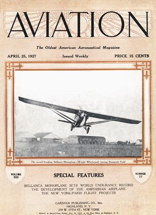 Cover for the April 25 1927 issue