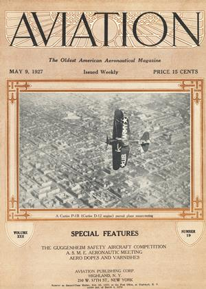 Cover for the May 9 1927 issue