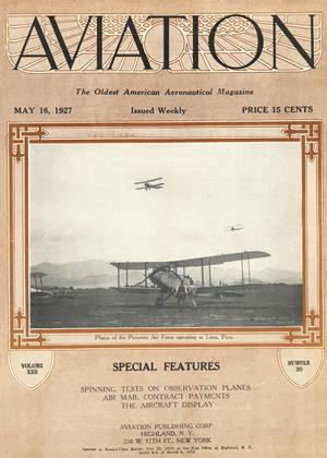 Cover for the May 16 1927 issue