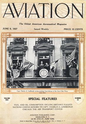 Cover for the June 6 1927 issue