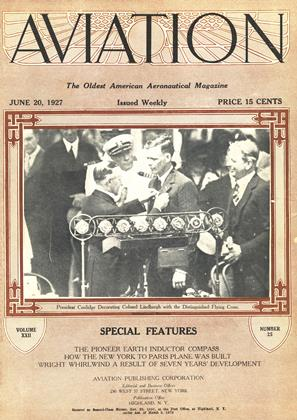 Cover for the June 20 1927 issue