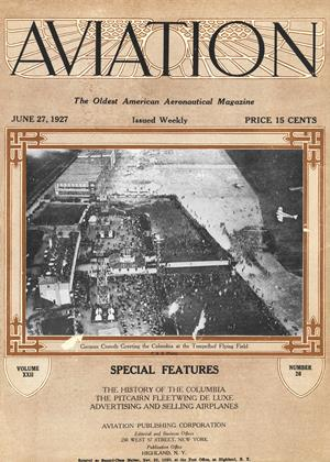 Cover for the June 27 1927 issue