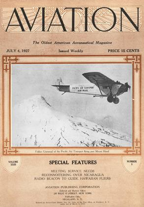 Cover for the July 4 1927 issue