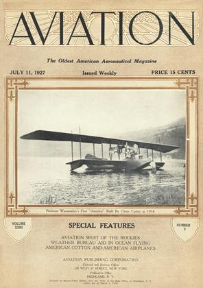 Cover for the July 11 1927 issue