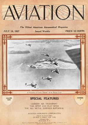 Cover for the July 18 1927 issue