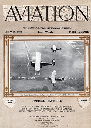 Cover for the July 25 1927 issue