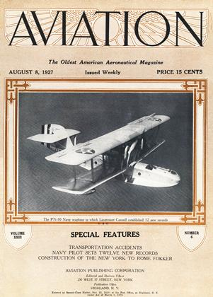 Cover for the August 8 1927 issue