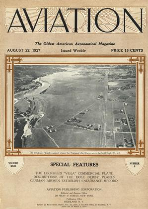 Cover for the August 22 1927 issue