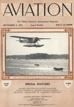 Cover for the September 5 1927 issue