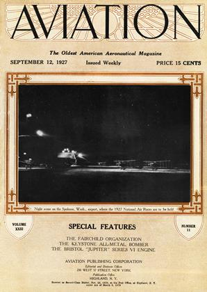 Cover for the September 12 1927 issue