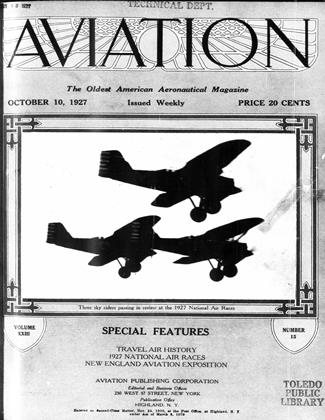 Cover for the October 10 1927 issue