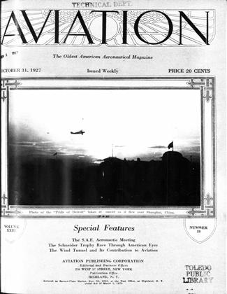 Cover for the October 31 1927 issue