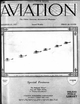 Cover for the November 21 1927 issue