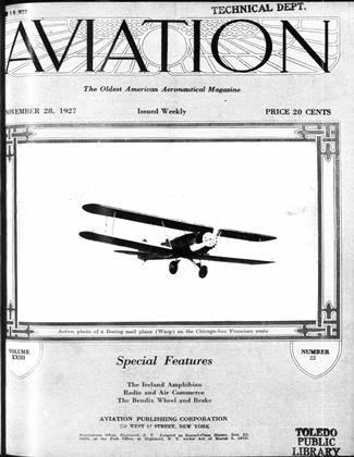 Cover for the November 28 1927 issue
