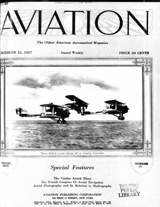 Cover for the December 12 1927 issue
