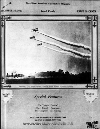 Cover for the December 26 1927 issue