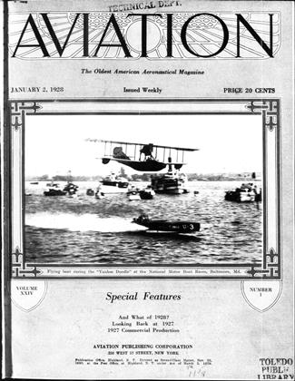 Cover for the January 2 1928 issue