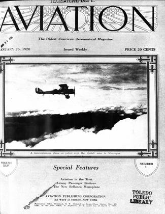 Cover for the January 23 1928 issue