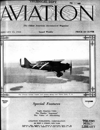 Cover for the February 13 1928 issue