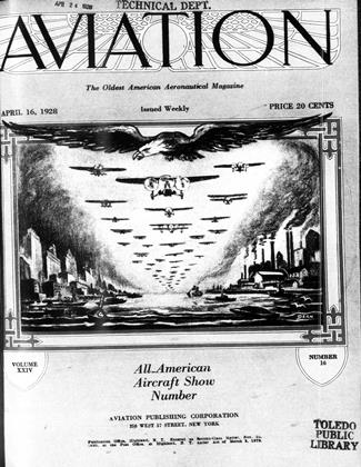Cover for the April 16 1928 issue