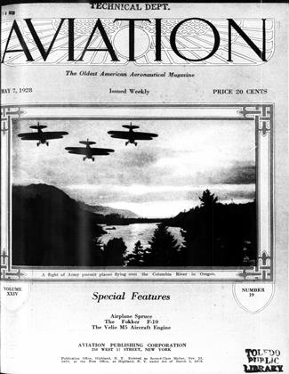 Cover for the May 7 1928 issue