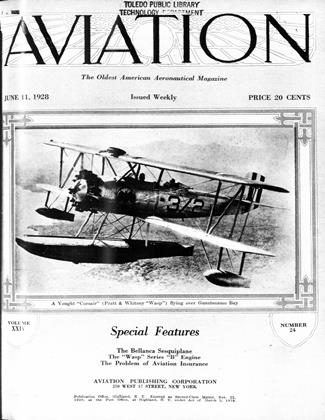 Cover for the June 11 1928 issue