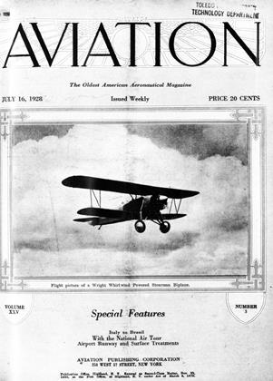 Cover for the July 16 1928 issue
