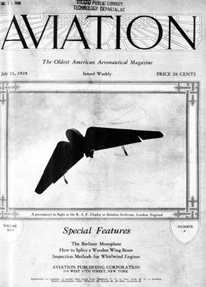 Cover for the July 21 1928 issue