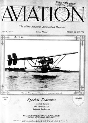 Cover for the July 28 1928 issue