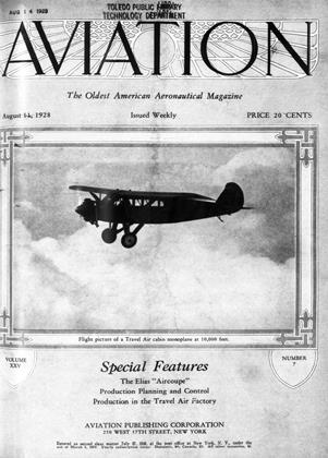 Cover for the August 11 1928 issue