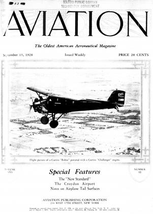 Cover for the September 15 1928 issue