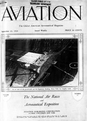 Cover for the September 22 1928 issue