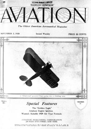 Cover for the November 3 1928 issue