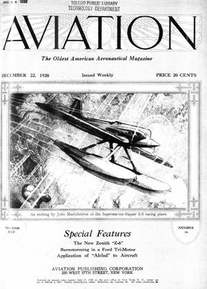 Cover for the December 22 1928 issue