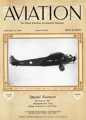 Cover for the January 12 1929 issue