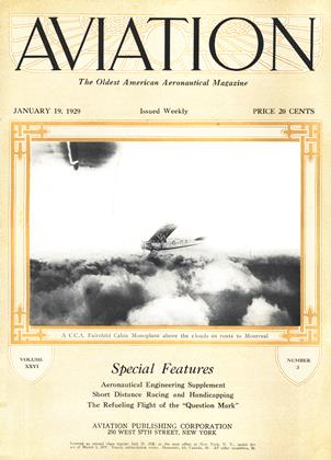 Cover for the January 19 1929 issue