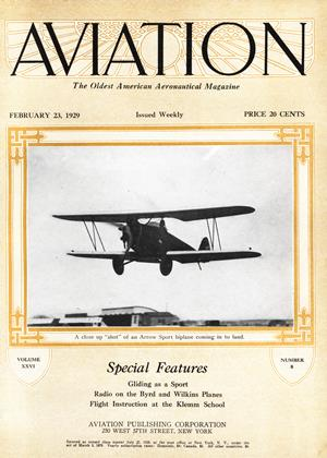 Cover for the February 23 1929 issue