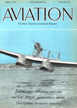 Cover for the August 3 1929 issue