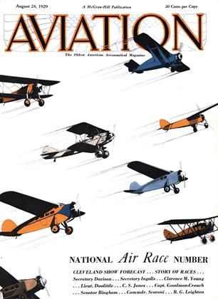 Cover for the August 24 1929 issue