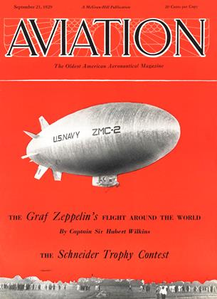 Cover for the September 21 1929 issue